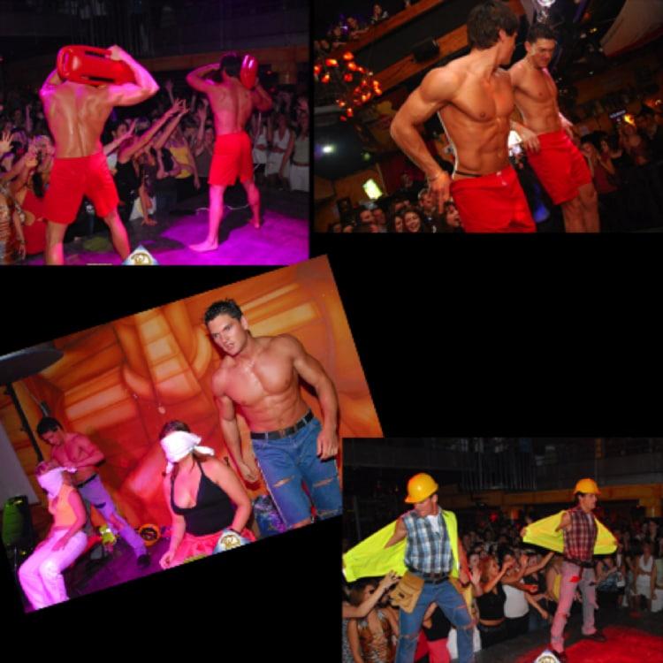 Stripteaseurs Porvence-Alpes-Côte d'Azur en chantier